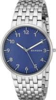 Skagen Men's SKW6201 Ancher Stainless Steel Link Watch