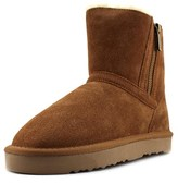Style&Co. Style & Co Ciley Round Toe Suede Ankle Boot.