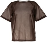 G.V.G.V. sheer short-sleeve T-shirt