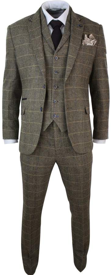 958e739e2b1a Mens Tweed Suit Slim Fit - ShopStyle Canada