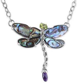 C28 BULK 5 Crystal Dragonfly Pendant