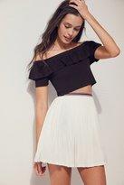 Silence & Noise Silence + Noise Addy A-line Mini Skirt