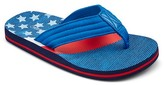 Cherokee Boys' Glen Americana Flip Flop Sandals Multi-Colored