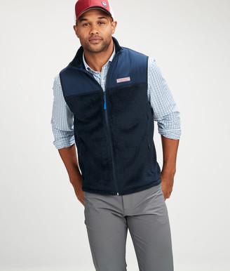 Vineyard Vines Dockside Fleece Full-Zip Vest