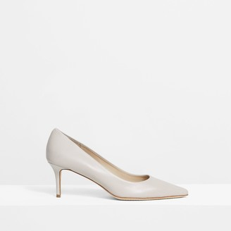 Theory City 70 Pump in Leather