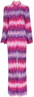 Ashish x Browns sequin embellished stripe jumpsuit