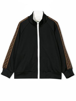 Fendi Ff-trimmed Sweatshirt
