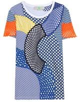 Stella McCartney Patchwork cotton T-shirt