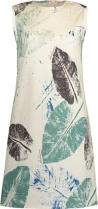 Carolina Herrera Printed Mini Shift Dress
