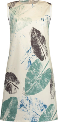 Carolina Herrera Printed Mini Shift Dress