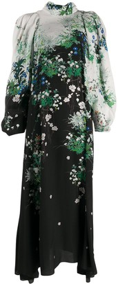 Givenchy Long Floral Printed Dress