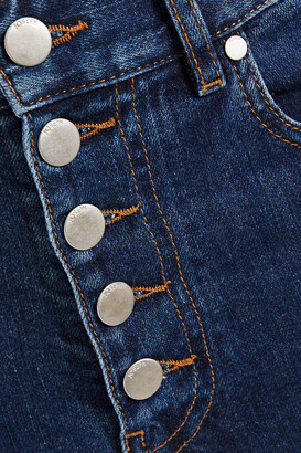 Joseph Cropped High-rise Straight-leg Jeans