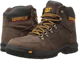 Caterpillar Outline (Honey Reset) Men's Work Lace-up Boots