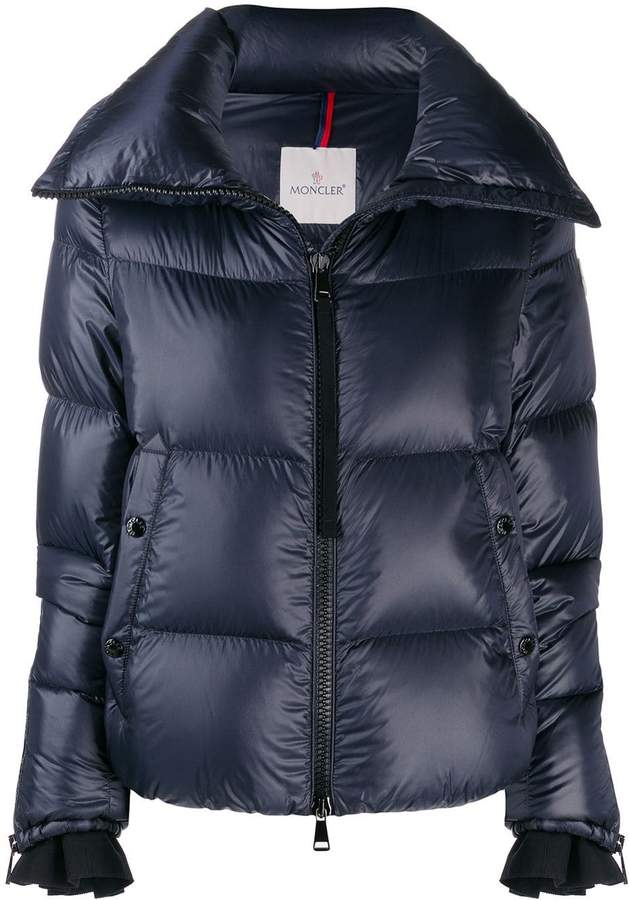 7a2cf1cb4 logo patch puffer jacket