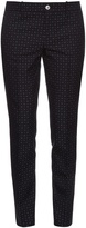 Gucci Dot-jacquard skinny-fit trousers