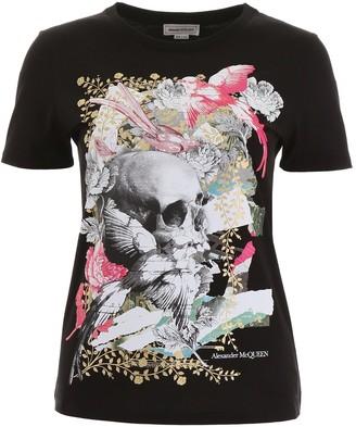 Alexander McQueen Graphic Printed T-Shirt