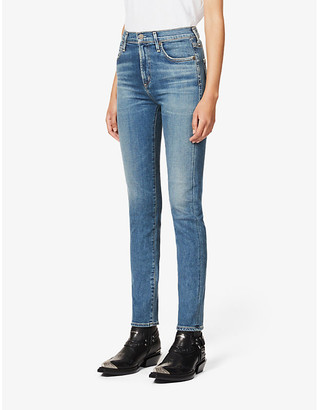 Citizens of Humanity Harlow slim mid-rise jeans