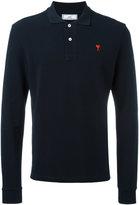 Ami Alexandre Mattiussi Ami de Coeur long sleeved polo shirt - men - Cotton - XS