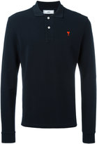 Ami Alexandre Mattiussi Ami de Coeur long sleeved polo shirt