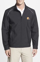 Cutter & Buck 'Cleveland Browns - Beacon' WeatherTec Wind & Water Resistant Jacket (Big & Tall)