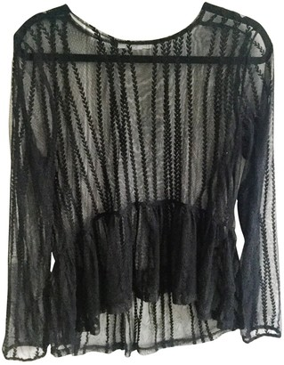 By Zoé Black Lace Top for Women