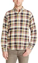Woolrich Men's Rich Flannel Yarn Dyed Shirt
