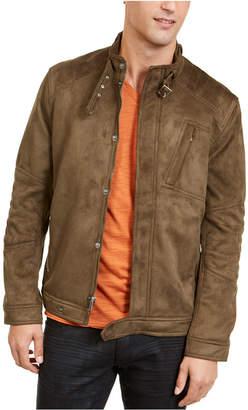 INC International Concepts Inc Men Faux Suede Jacket