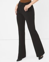 White House Black Market Curvy Seasonless Slim Flare Pants