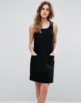 Warehouse Overall Shift Dress