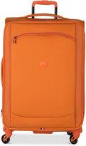 Delsey Hyperlite 2.0 25'' Expandable Spinner Suitcase in Orange