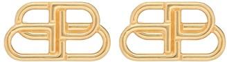 Balenciaga BB stud earrings