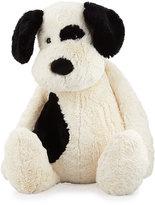 Jellycat Really Big Bashful Puppy Stuffed Animal, Black/White