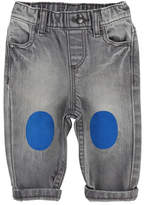 Billybandit Faded Denim Pants w/ Knee Patches, Size 2-3