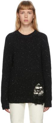 Maison Margiela Black Gauge Sweater