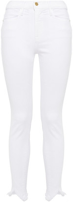 Frame Le High Skinny Double Triangle High-rise Skinny Jeans