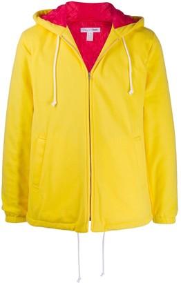 Comme des Garcons contrast zipped jacket