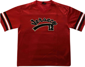 Versace Red Polyester T-shirts