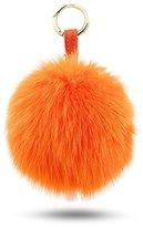 BELK Authentic Mink Furry Pom Pom Ball For Car Keychain & Bag Purse Charm