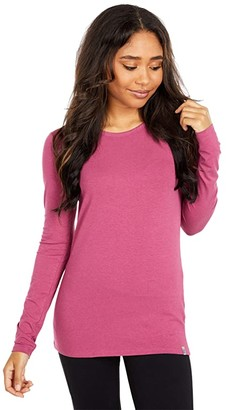 tasc Performance Nola II Long Sleeve Crew Neck Tee (Vineyard) Women's Clothing
