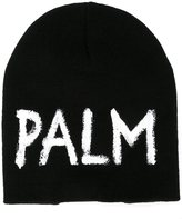 Palm Angels knitted cap - men - Acrylic - One Size