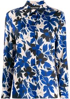 Moschino floral print blouse