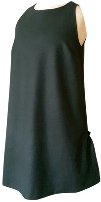 Tara Jarmon Black Wool Dresses