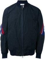 Facetasm stripe detail bomber - men - Cotton/Polyester - One Size