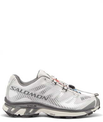 Salomon Xt-4 Advanced Mesh Running Trainers - White Silver