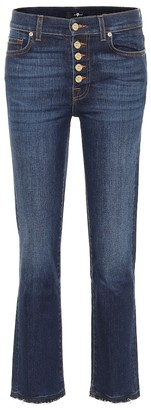 7 For All Mankind The Straight Crop jeans