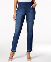 Jag Nora Pull-On Released-Hem Skinny Jeans