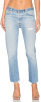 RE/DONE Relaxed Cropped Jeans