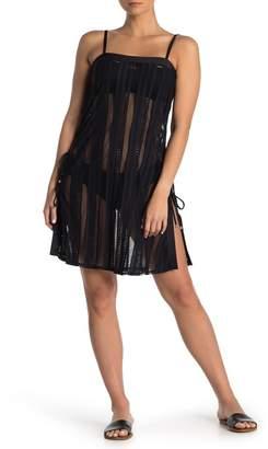 Ella Moss Heart A Flutter Crochet Cover-Up Dress