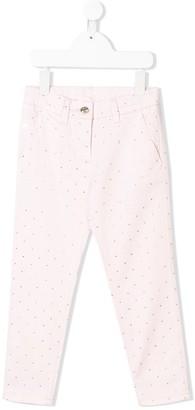 MonnaLisa Studded Skinny Jeans