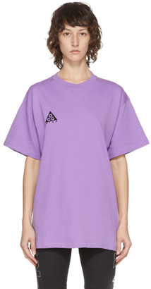 Nike Purple ACG T-Shirt